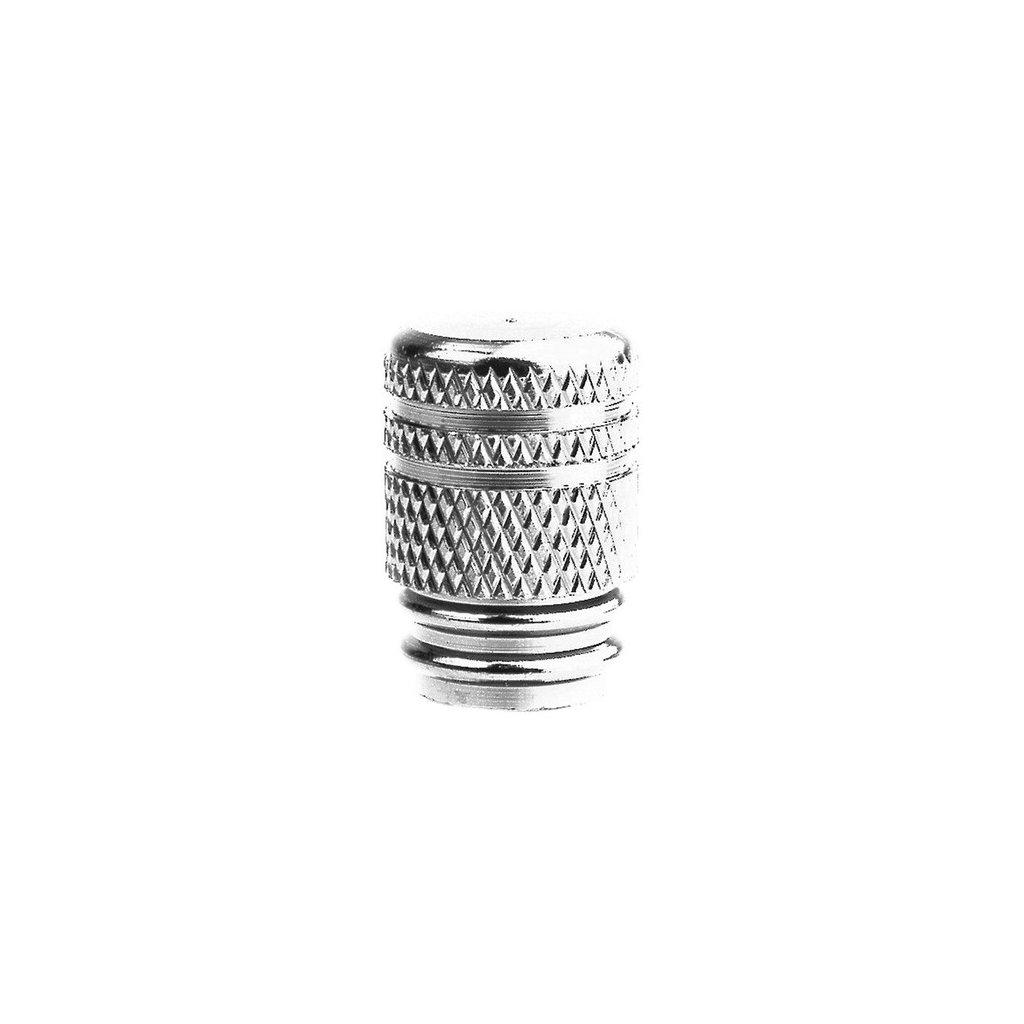 kovové čepičky ventilků, OXFORD - Anglie (stříbrné, pár)