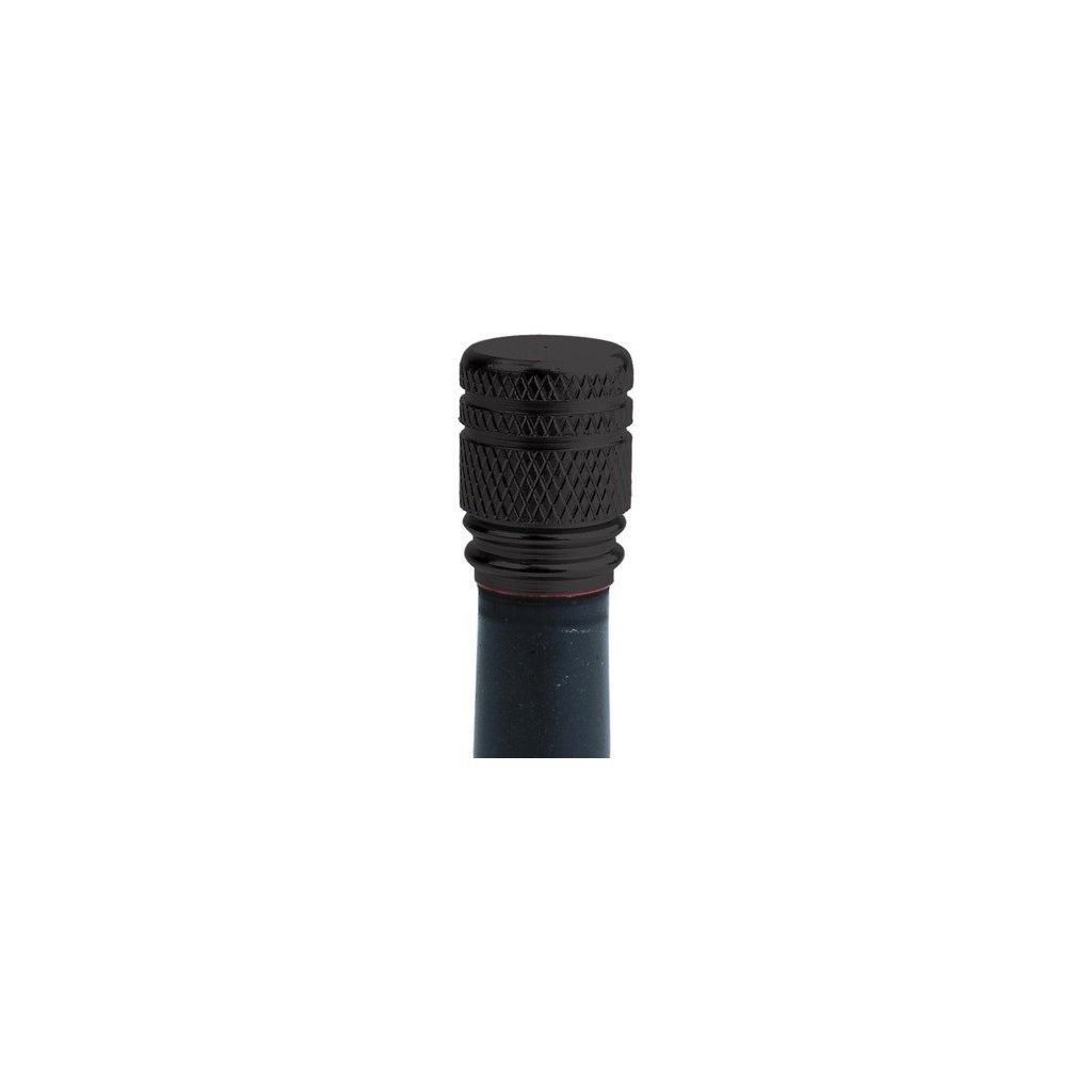kovové čepičky ventilků, OXFORD - Anglie (černé, pár)