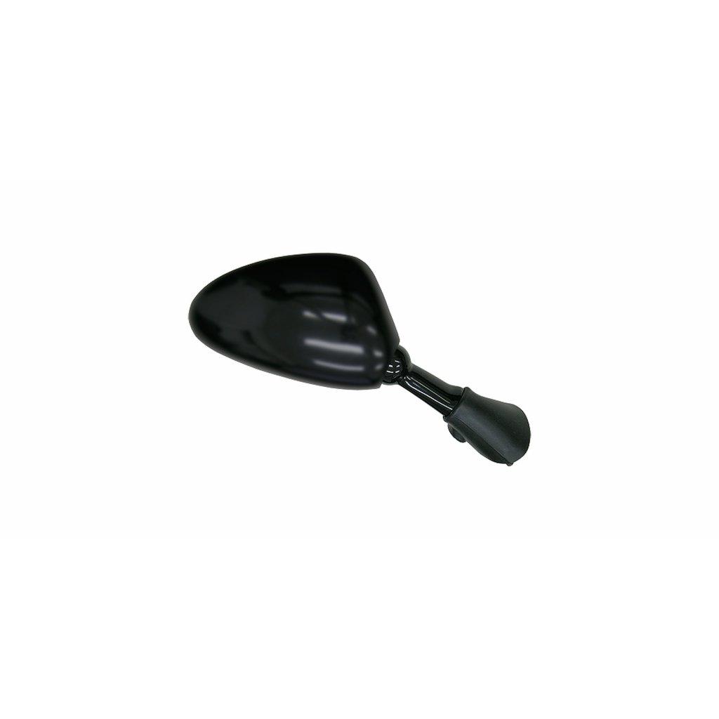 zpětné zrcátko plastové (rozteč šroubů 28 mm), Q-TECH, P