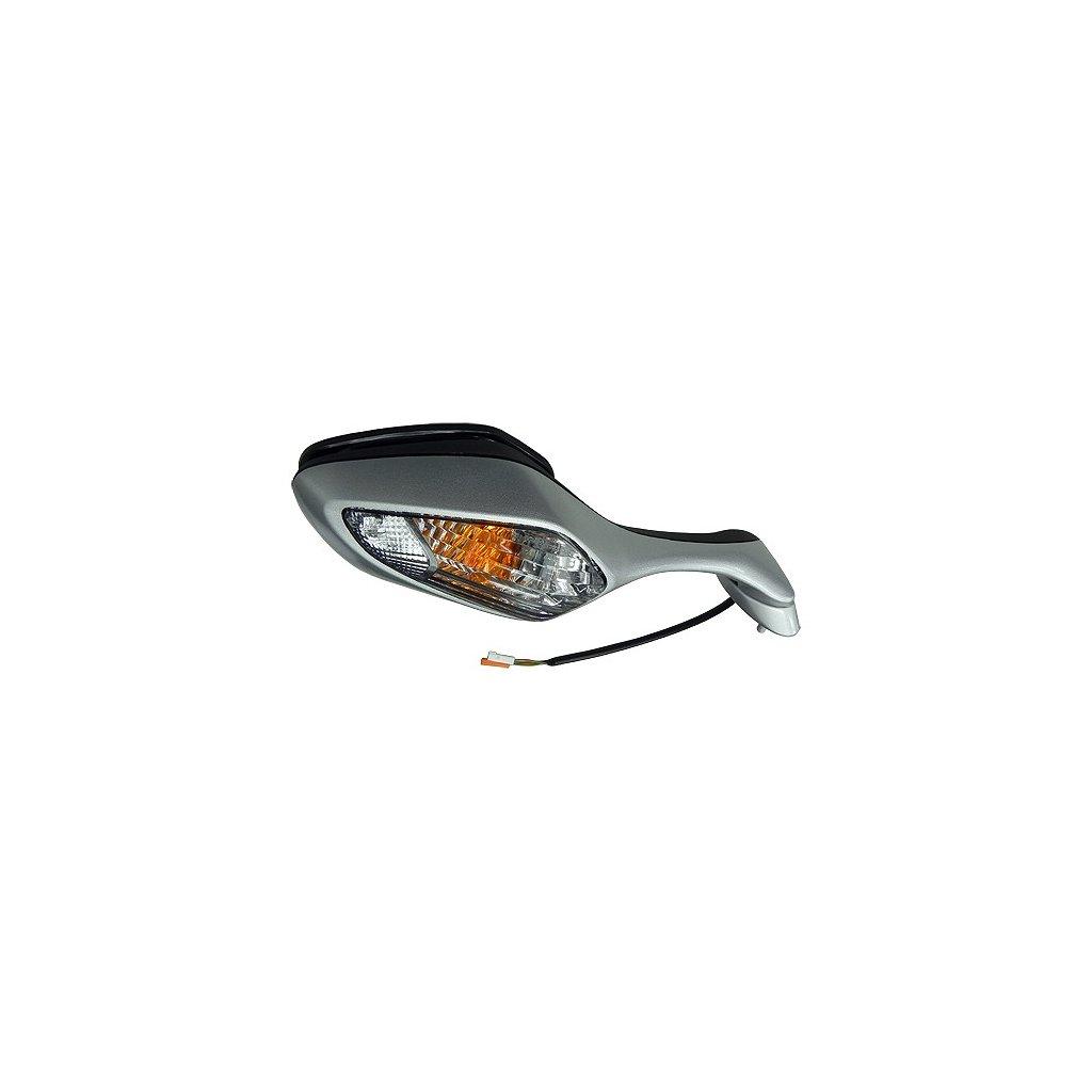 zpětné zrcátko s blikačem (rozteč šoubů 40 mm), Q-TECH, P
