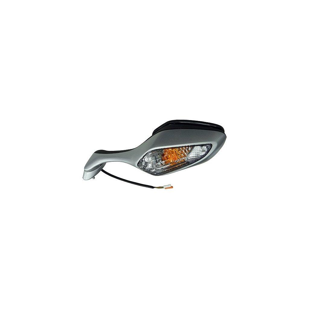 zpětné zrcátko s blikačem (rozteč šoubů 40 mm), Q-TECH, L