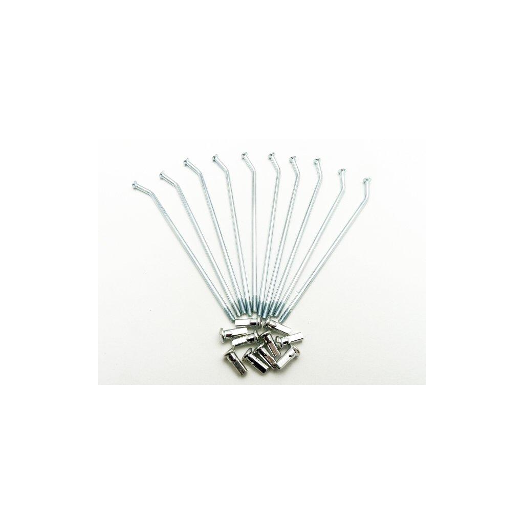 Pitbike drát s niplem na kolo 12palců - 1ks, Stomp, DemonX, WPB