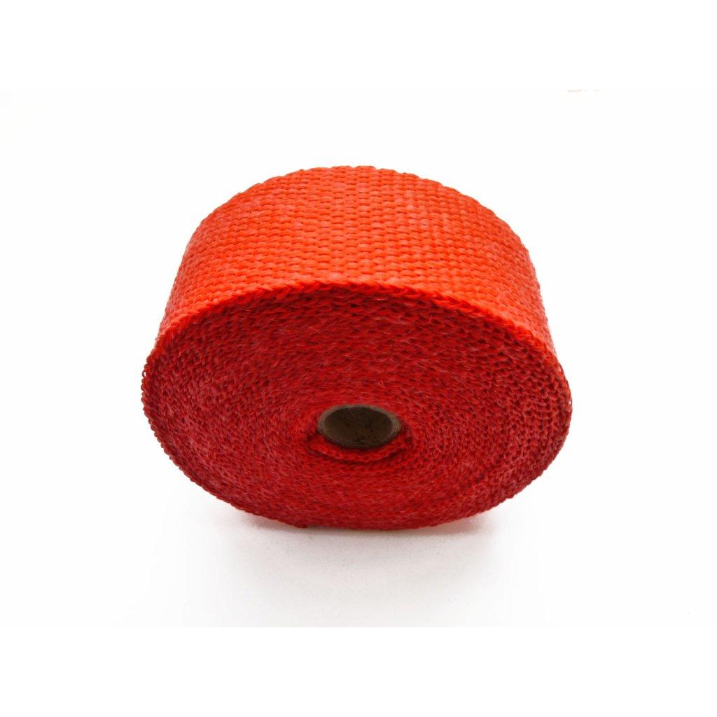 pitbike omotávka výfuku do 550 stupňů, červená