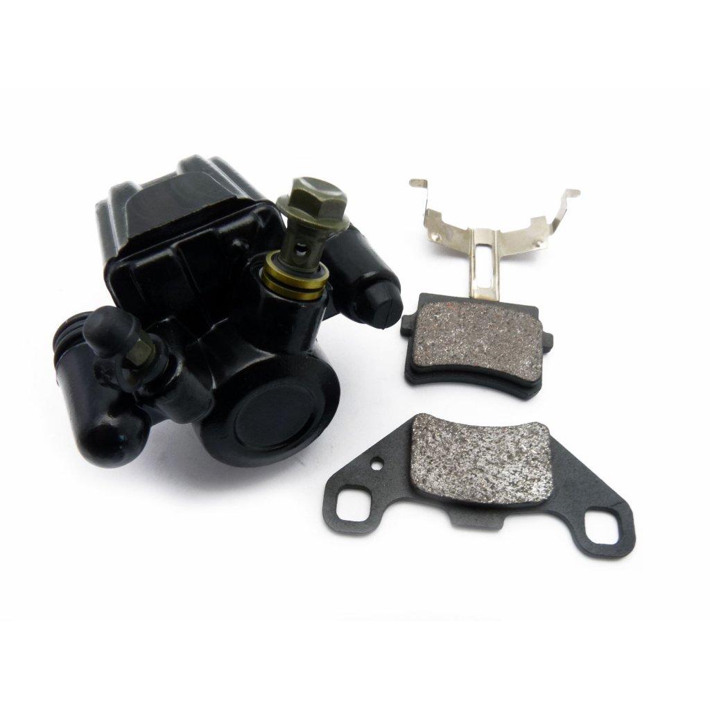 pitbike přední jednopístkový brzdový třmen Stomp, DemonX, WPB, černý