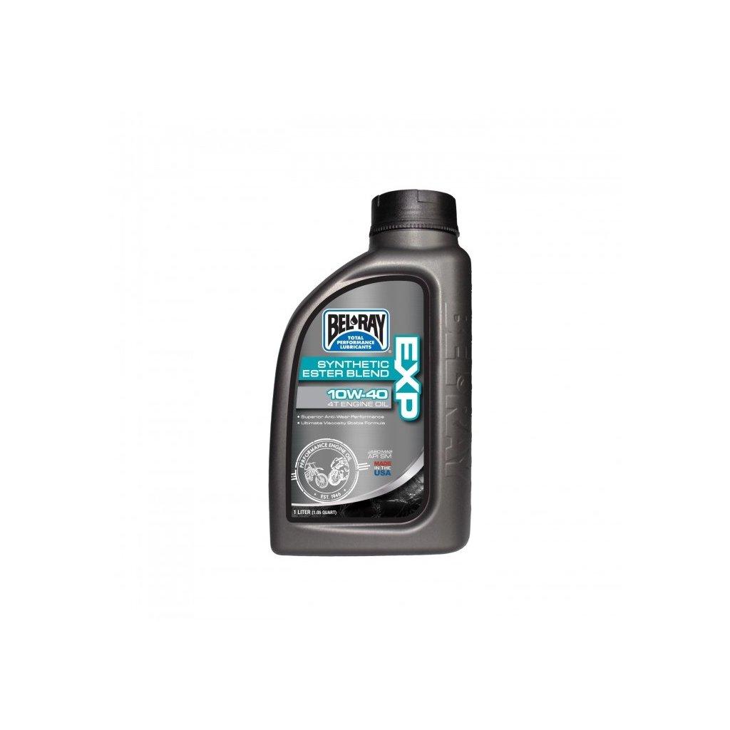 Motorový olej Bel-Ray EXP SYNTHETIC ESTER BLEND 4T 10W-40 1 l