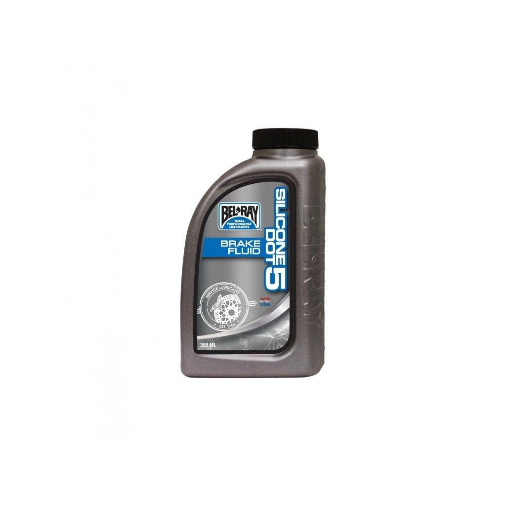 Brzdová kapalina Bel-Ray SILICONE DOT 5 BRAKE FLUID 355 ml