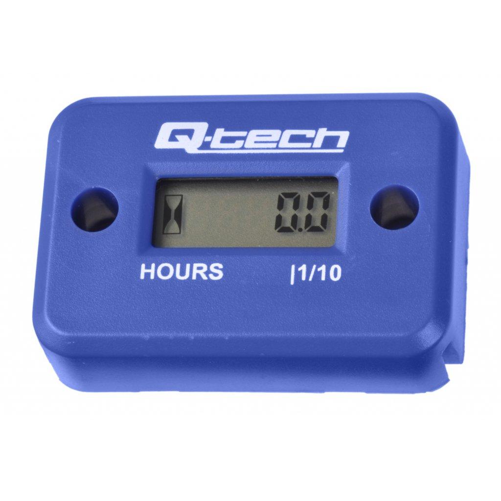 měřič motohodin, Q-TECH (modrý)