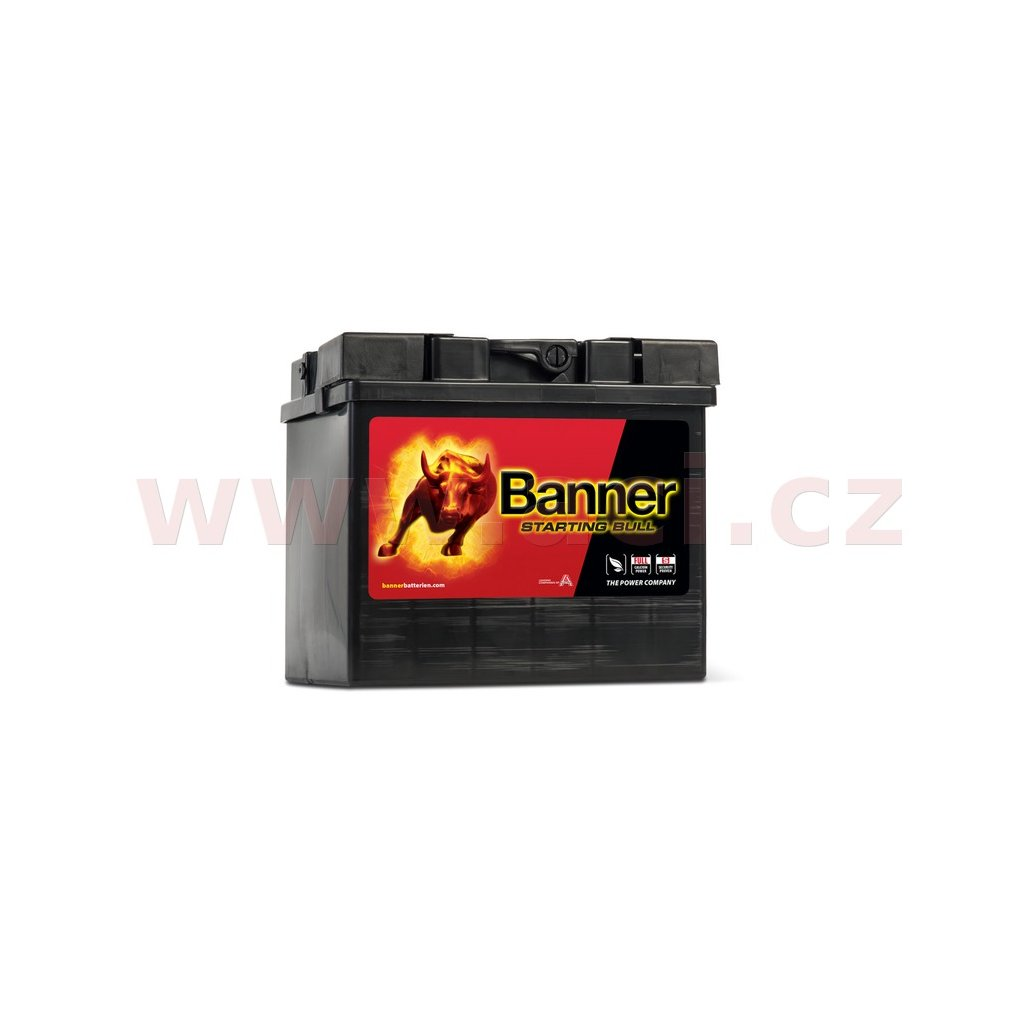 30Ah baterie, 300A, levá BANNER Starting Bull 187x128x165