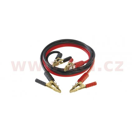 Startovací kabely 500 A, mosazné svorky, délka 3 m, průřez 25 mm2 GYS PRO