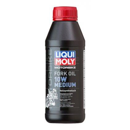 LIQUI MOLY Motorbike Fork Oil 10w Medium - olej do tlumičů pro motocykly - střední 500 ml