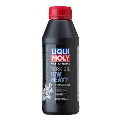 LIQUI MOLY Motorbike Fork Oil 15w Heavy - olej do tlumičů pro motocykly - těžký 500 ml