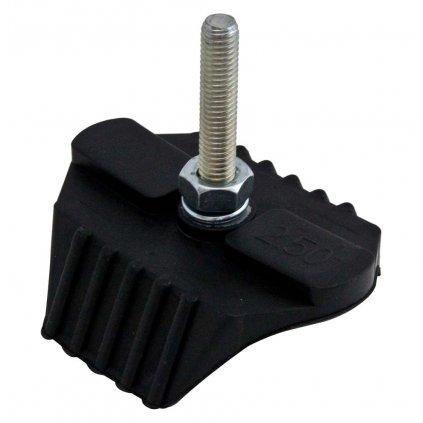 """HALTR - zámek proti protočení pláště pneu 2,50"""" (hliníkové jádro, zadní pneu šířky 120-18"""" a 120-19""""), RTECH"""