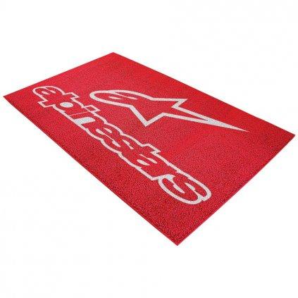 koberec velký, ALPINESTARS (červený, 250 x 150cm)