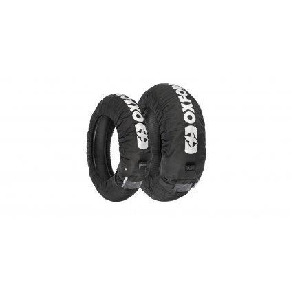 nahříváky pneu s LCD displejem a třemi režimy nastavení, OXFORD (černé, pár)