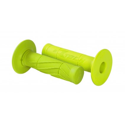 gripy Wave (měkké), RTECH (neon žluté, pár, délka 118 mm)