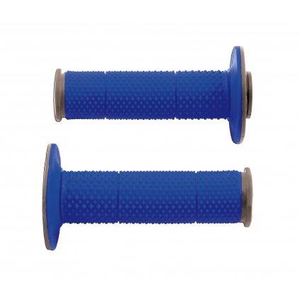 gripy Full Diamond (dvouvrstvé, extra měkké), RTECH (modro-šedé, pár, délka 116 mm)