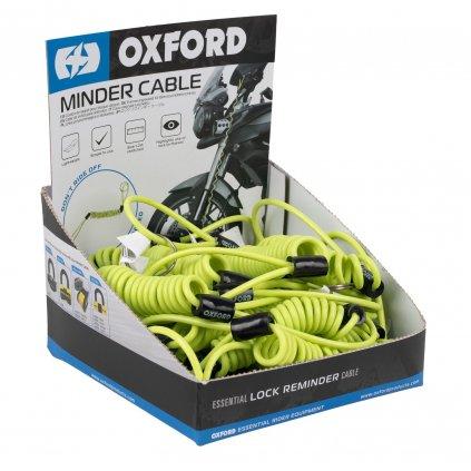 připomínač kotoučového zámku, OXFORD (reflexní žlutý, obchodní balení 25 ks)