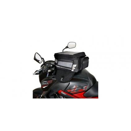 tankbag na motocykl F1 Magnetic, OXFORD - Anglie (černý, objem 18 l)