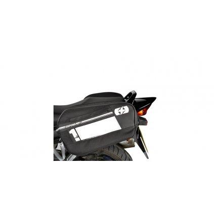 boční brašny na motocykl F1, OXFORD - Anglie (černé, objem 45 l, pár)