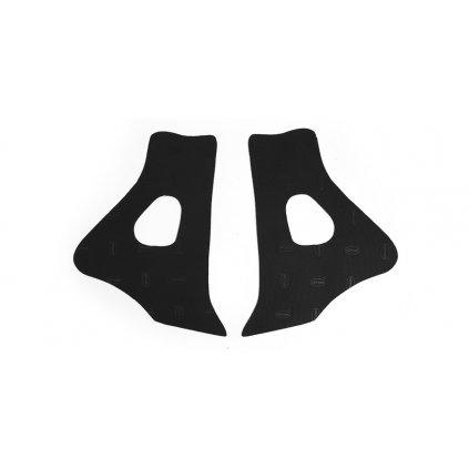 gumové protektory rámu Honda, VIBRAM (sada, černá)
