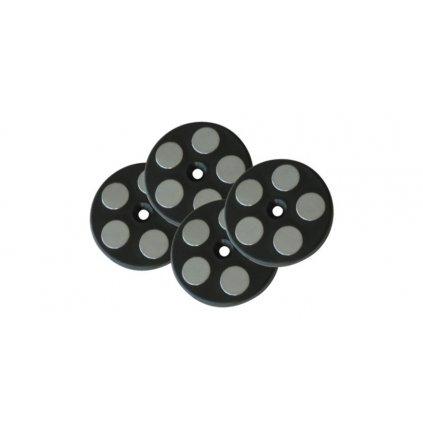 sada 4x originálních magnetů, KAPPA