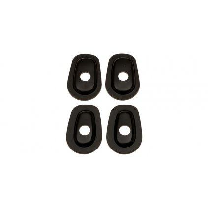 adaptéry pro osazení blinkrů do kapotáží Kawasaki, OXFORD - Anglie (2 páry)