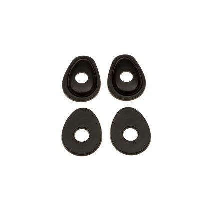 adaptéry pro osazení blinkrů do kapotáží Suzuki, OXFORD - Anglie (2 páry)