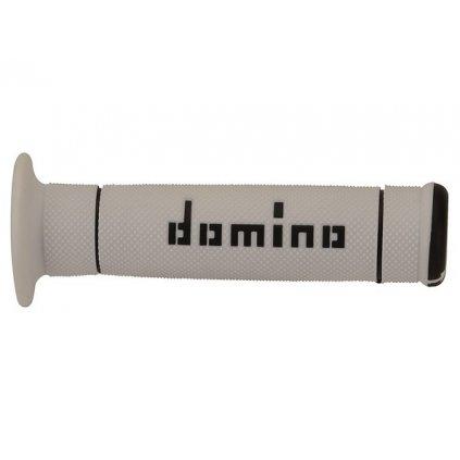 gripy (trial) délka 125 mm, DOMINO (bílo-černé)