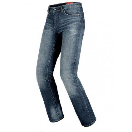 jeansy J TRACKER, SPIDI - Itálie (tmavě modrá sepraná, obšívka Cordura®/denim bavlna)