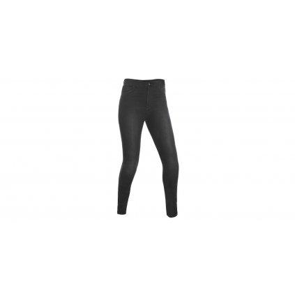 kalhoty JEGGINGS, OXFORD, dámské (legíny s Kevlar® podšívkou, černé)