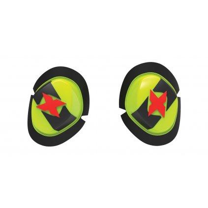 slidery Icon, OXFORD (černé/žluté, pár)