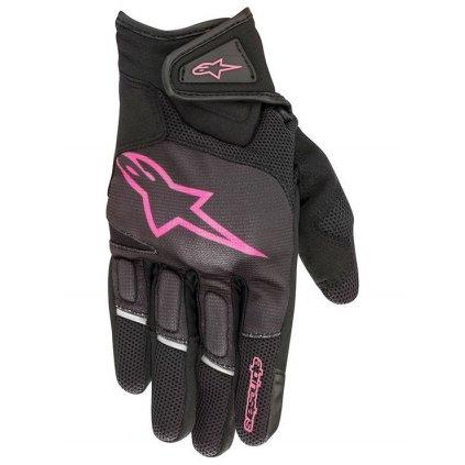 rukavice STELLA ATOM, ALPINESTARS, dámské (černé/fialové)
