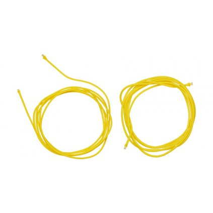 náhradní tkaničky do vnitřní botičky pro boty Supertech R a SMX Plus, ALPINESTARS (žluté, pár)