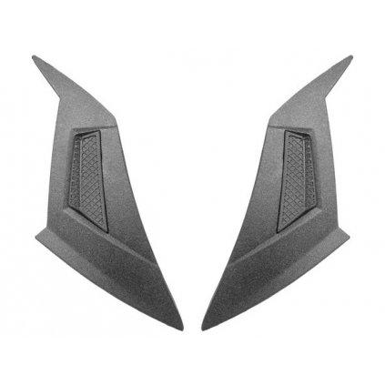 vrchní kryty ventilace pro přilby N124, NOX (černé, pár)