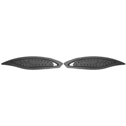 kryty ventilace přední pro přilby N180, NOX (černá, pár)
