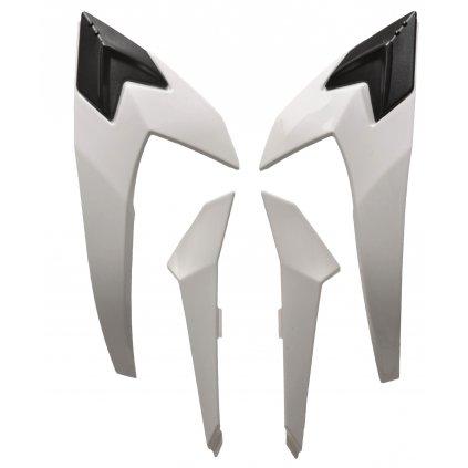 druhý vrchní kryt ventilace pro přilby VALOR, AIROH - Itálie (bílý)