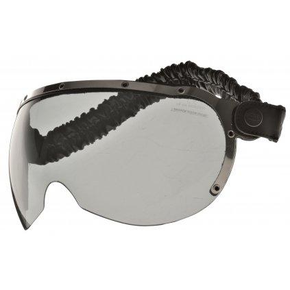 brýle pro přilby GARAGE, AIROH - Itálie (tmavé)