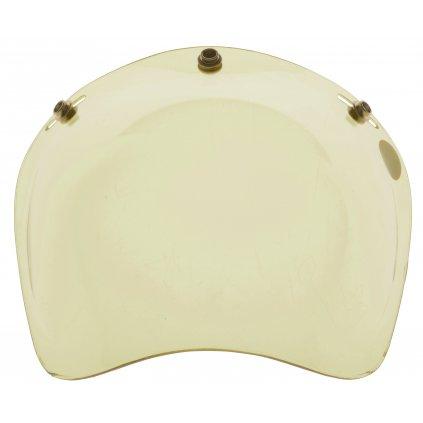 plexi model bublina pro přilby GARAGE, AIROH (žlutá)