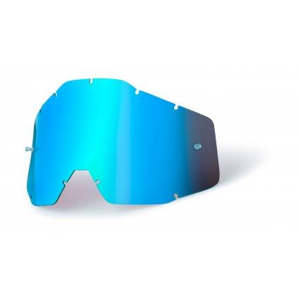 plexi Accuri/Strata, 100% dětské (modrý chrom, Anti-fog)