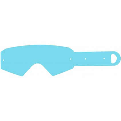 strhávací slídy plexi pro brýle ETHEN řady 05, Q-TECH (50 vrstev v balení, čiré)