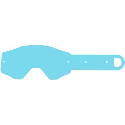 strhávací slídy plexi pro brýle ETHEN řady 06, Q-TECH (50 vrstev v balení, čiré)