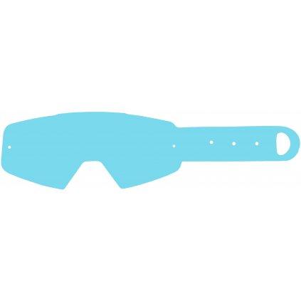 strhávací slídy plexi pro brýle PITCHA, Q-TECH (10 vrstev v balení, čiré)