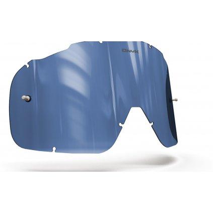 plexi pro brýle FOX RACING AIRSPC, OnyxLenses (modré s polarizací)