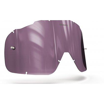 plexi pro brýle FOX RACING AIRSPC, OnyxLenses (fialové s polarizací)