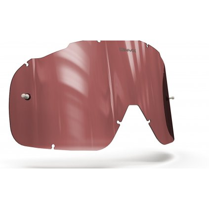 plexi pro brýle FOX RACING AIRSPC, ONYX LENSES (červené s polarizací)