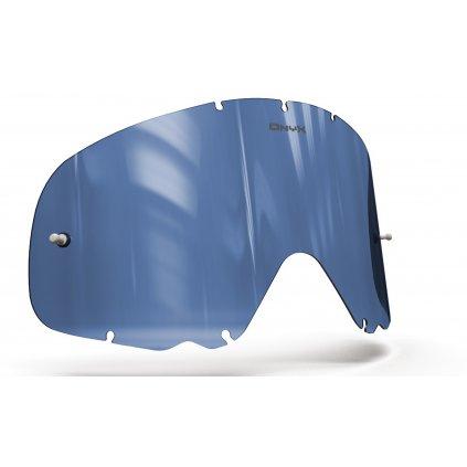 plexi pro brýle OAKLEY CROWBAR, ONYX LENSES (modré s polarizací)