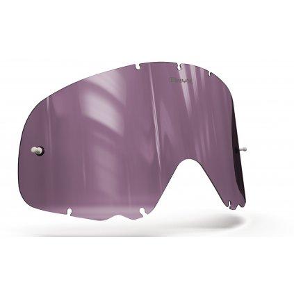 plexi pro brýle OAKLEY CROWBAR, ONYX LENSES (fialové s polarizací)