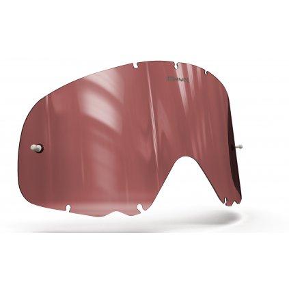 plexi pro brýle OAKLEY CROWBAR, ONYX LENSES (červené s polarizací)