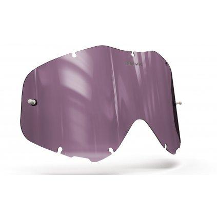 plexi pro brýle SPY KLUTCH, OnyxLenses (fialové s polarizací)