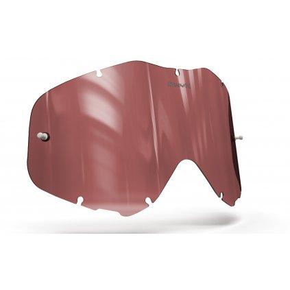plexi pro brýle SPY KLUTCH, ONYX LENSES (červené s polarizací)